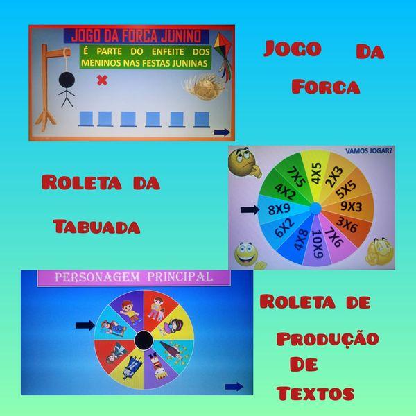 Imagem principal do produto KIT 3 JOGOS INTERATIVOS POWERPOINT