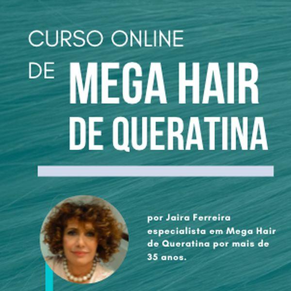 Imagem principal do produto Curso Mega Hair com Queratina