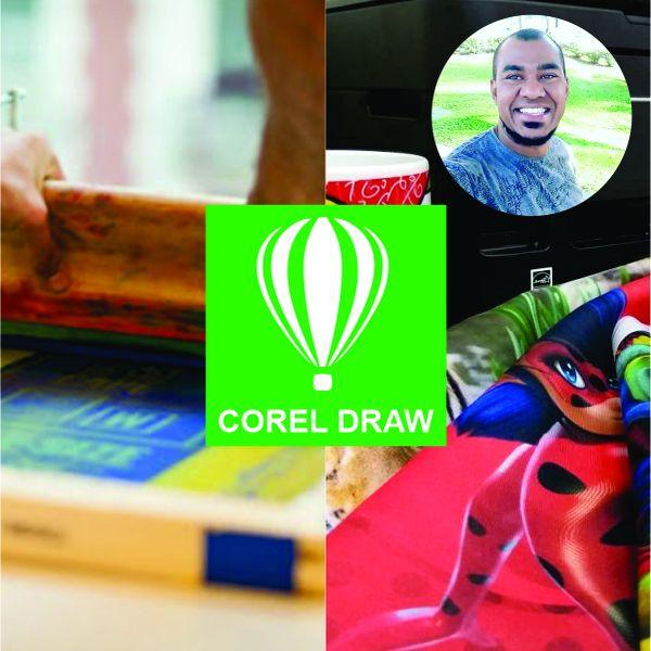 Imagem principal do produto Curso de Corel para Serigrafia e Sublimação