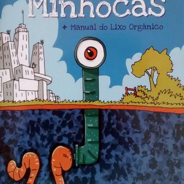 Imagem principal do produto Livro A Fuga das Minhocas
