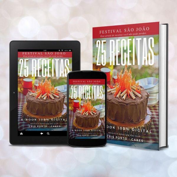 Imagem principal do produto E-BOOK de comidas típicas Juninas