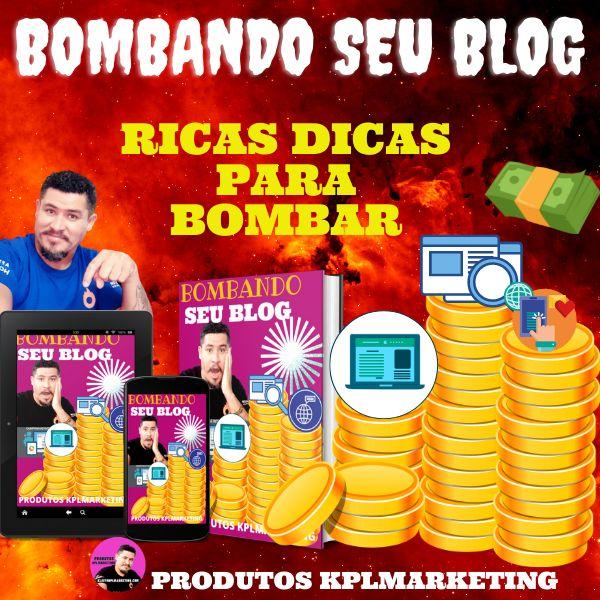 Imagem principal do produto Bombando Seu Blog