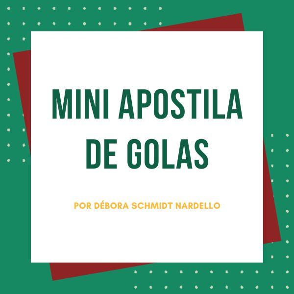 Imagem principal do produto Mini Apostila de Golas