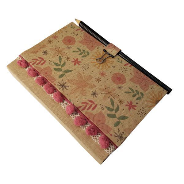 Imagem principal do produto Encadernação Pocket #2 - Caderneta com Bradel Estilizado
