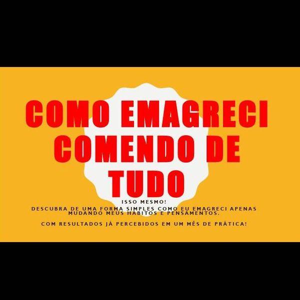 Imagem principal do produto COMO EMAGRECI COMENDO DE TUDO