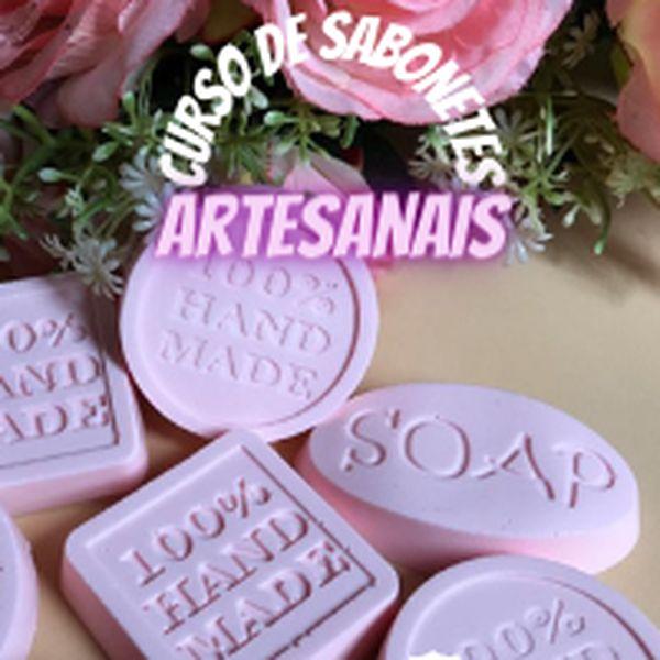 Imagem principal do produto Curso de Sabonetes Artesanais