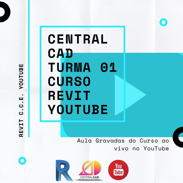 Imagem principal do produto Curso REVIT YouTube