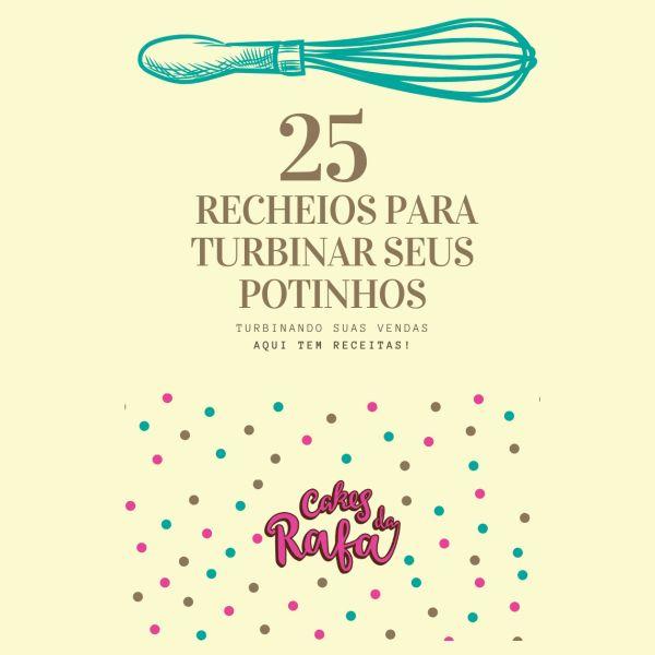 Imagem principal do produto 25 Recheios para Turbinar seus Potinhos