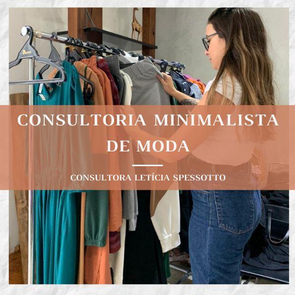 Imagem principal do produto Consultoria Minimalista de Moda