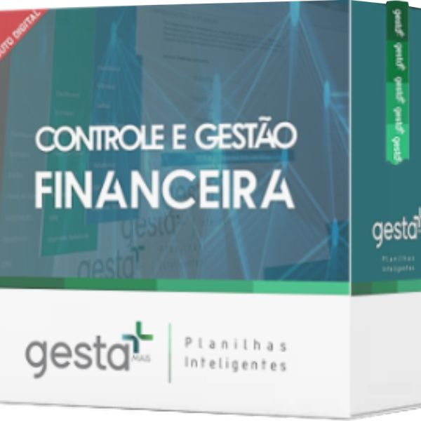 Imagem principal do produto Super Planilha de Controle e Gestão Financeira FINAN 4.0