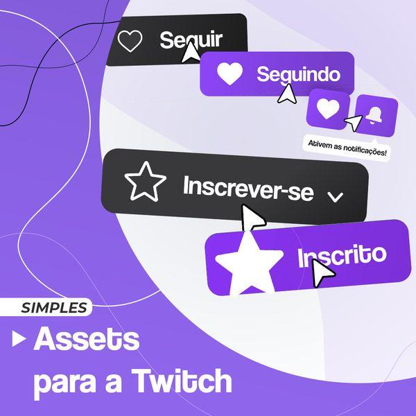 Imagem principal do produto Animações para Twitch (Simples)