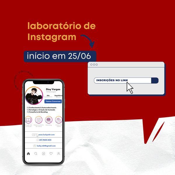 Imagem principal do produto Laboratório de Instagram - Módulo 1