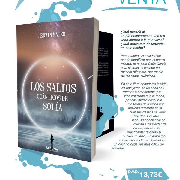Imagem principal do produto Los Saltos cuánticos de Sofía