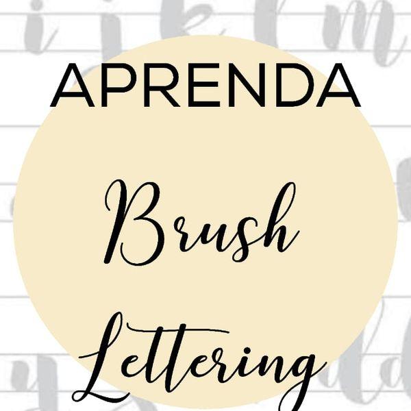 Imagem principal do produto Aprenda Brush Lettering