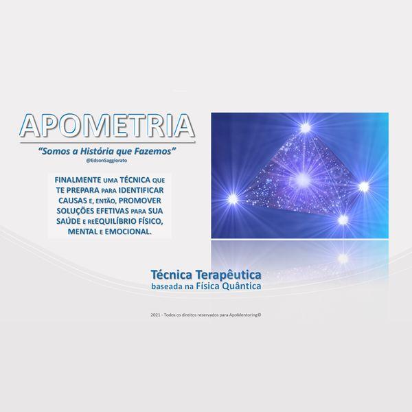 Imagem principal do produto Apometria - Técnica Terapêutica para Equilíbrio do Ser em Desenvolvimento