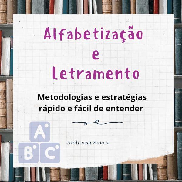 Imagem principal do produto ALFABETIZAÇÃO E LETRAMENTO RÁPIDO E FACIL DE ENTENDER