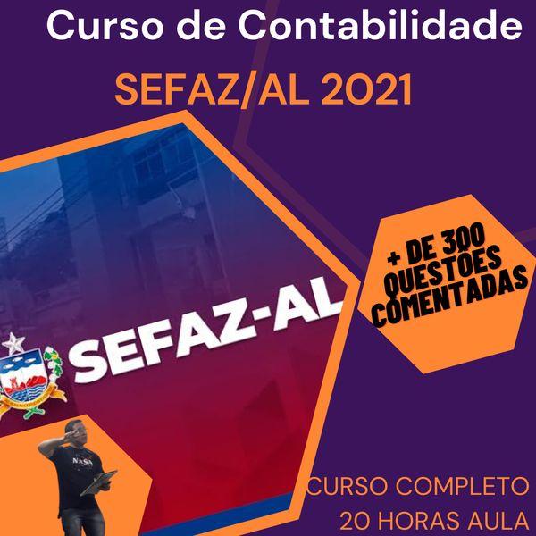 Imagem principal do produto Contabilidade para SEFAZ/AL 2021