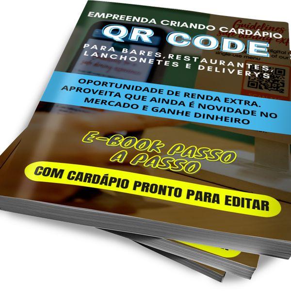 Imagem principal do produto Faça Renda Extra Criando Cardápio Digital com QR CODE