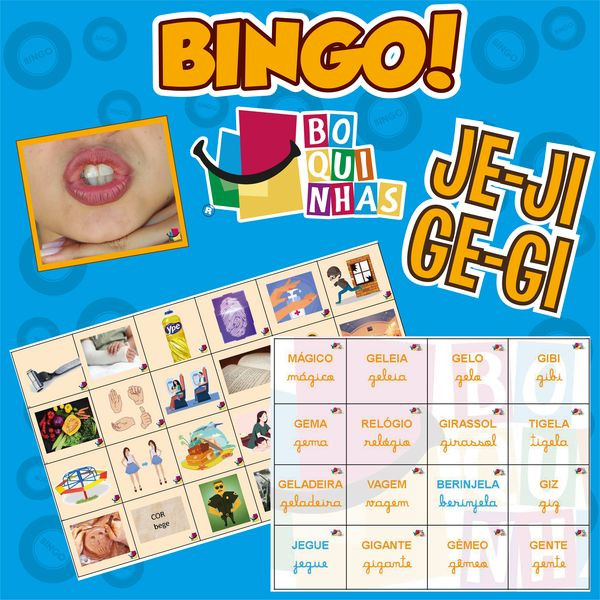 Imagem principal do produto BINGO DE JE-JI – GE-GI Fixação ortográfica