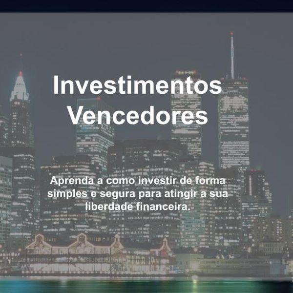 Imagem principal do produto Investimentos Vencedores
