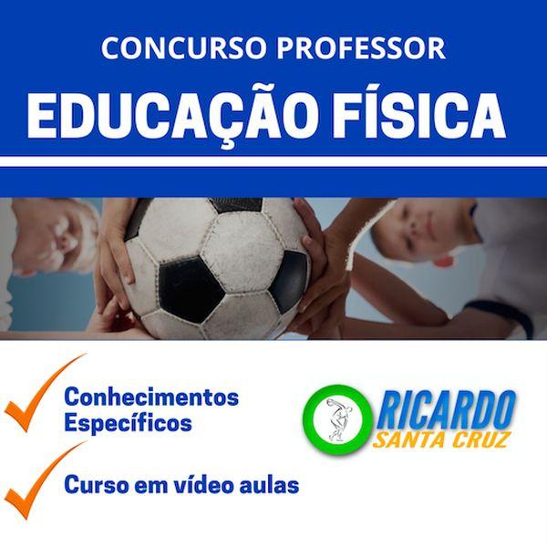 Imagem principal do produto CURSO PREPARATÓRIO PROFESSOR DE EDUCAÇÃO FÍSICA