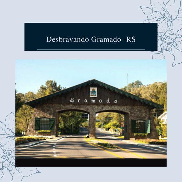 Imagem principal do produto Desbravando Gramado - RS
