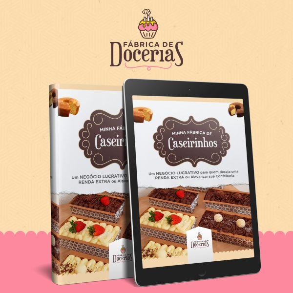 Imagem principal do produto Ebook Fábrica de Caseirinhos Gourmet