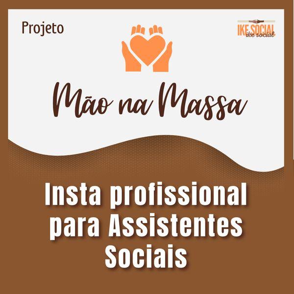 Imagem principal do produto INSTA PROFISSIONAL PARA ASSISTENTES SOCIAIS
