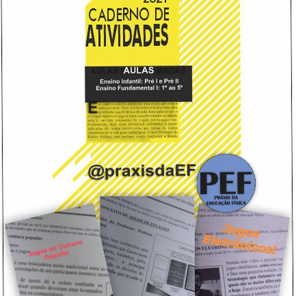 Imagem principal do produto CADERNO DE ATIVIDADES