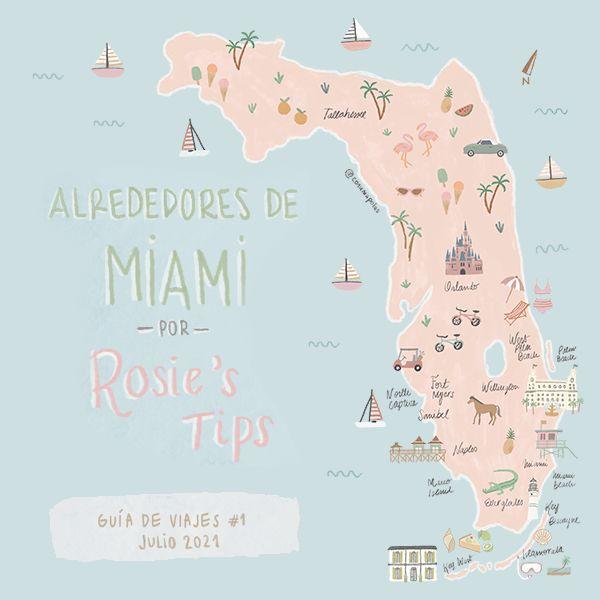 Imagem principal do produto Alrededores de Miami - Guía de viajes #1