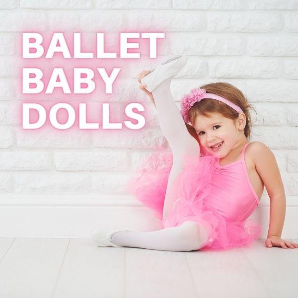 Imagem principal do produto Ballet Baby Dolls - Encantando e educando crianças de 3 a 6 anos através do ballet.