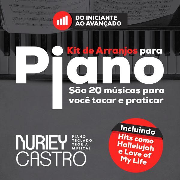 Imagem principal do produto Kit de Arranjos para Piano