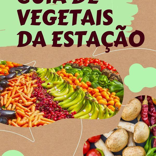 Imagem principal do produto GUIA DE VEGETAIS DA ESTAÇÃO