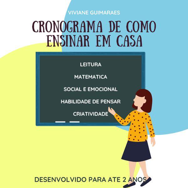 Imagem principal do produto CRONOGRAMA DE ATIVIDADES - 2 anos