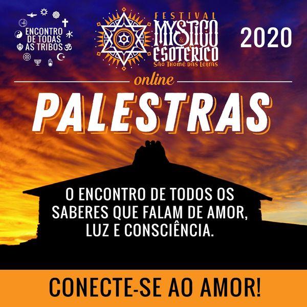 Imagem principal do produto Palestras do Festival Místico e Esotérico de São Thomé das Letras