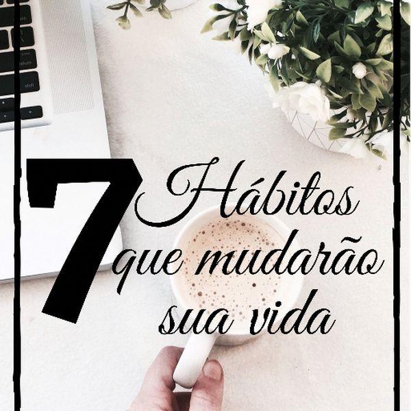 Imagem principal do produto 7 Hábitos que mudarão sua vida