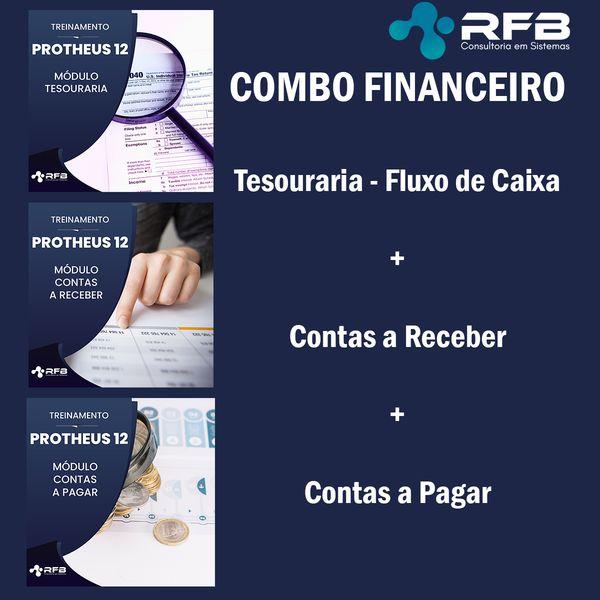 Imagem principal do produto PROTHEUS V12 - Financeiro - Contas a Pagar, Contas a Receber e Tesouraria + Fluxo de Caixa