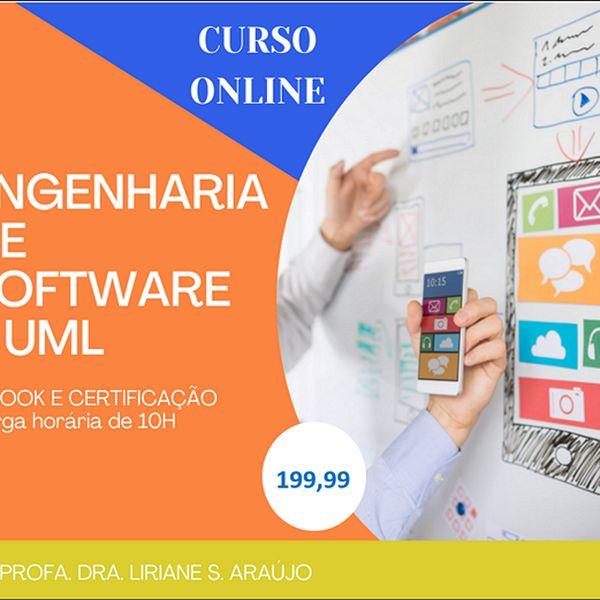 Imagem principal do produto Curso Engenharia de Software e UML