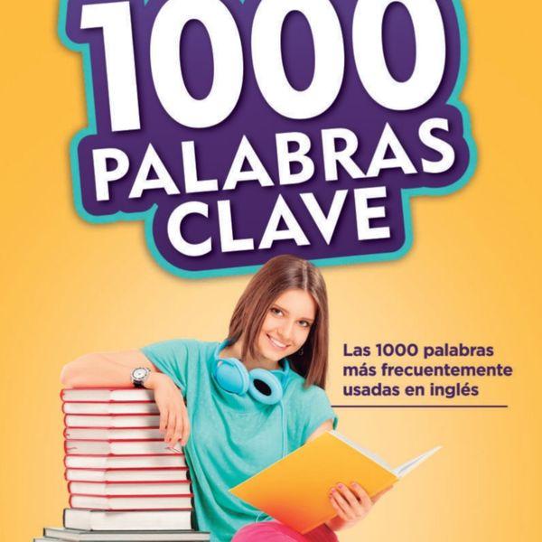 Imagem principal do produto 1000 palabras clave para aprender ingles