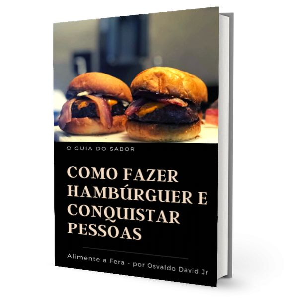 Imagem principal do produto Como Fazer Hambúrguer e Conquistar Pessoas