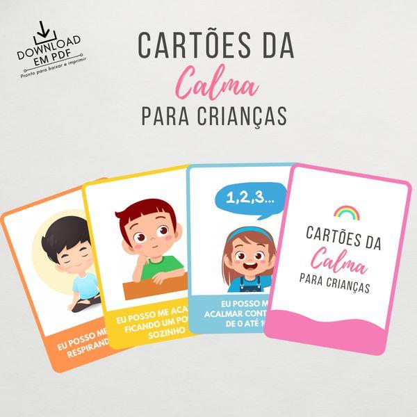 Imagem principal do produto  Cartões da Calma para Crianças