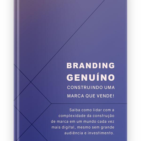 Imagem principal do produto Branding Genuíno - Construindo uma marca que vende