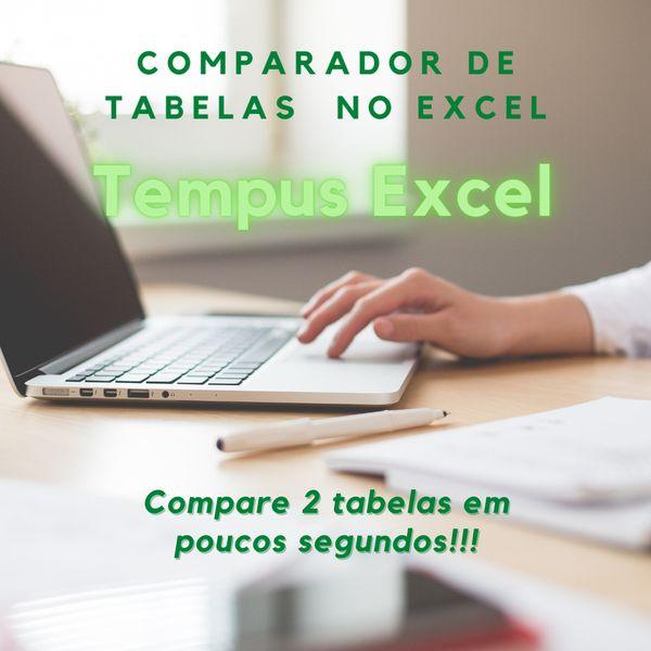 Imagem principal do produto Comparador de tabelas - Tempus Excel