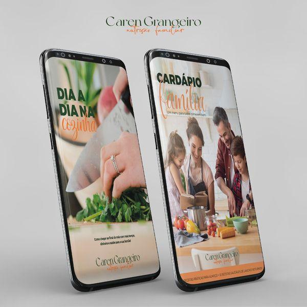 Imagem principal do produto Guia Dia a Dia na Cozinha + Bônus Cardápio Família