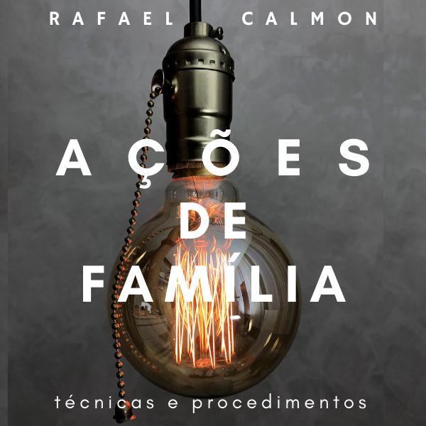Imagem principal do produto AÇÕES DE FAMÍLIA: TÉCNICAS E PROCEDIMENTOS, POR RAFAEL CALMON