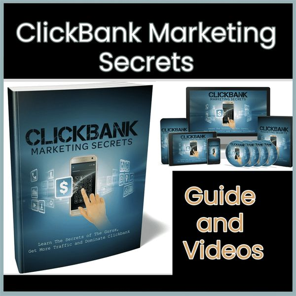 Imagem principal do produto ClickBank Marketing Secrets