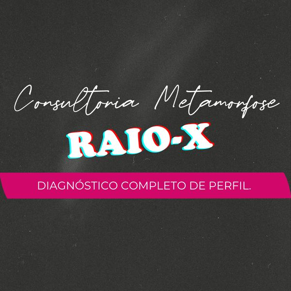 Imagem principal do produto Consultoria Metamorfose - Raio X de perfill