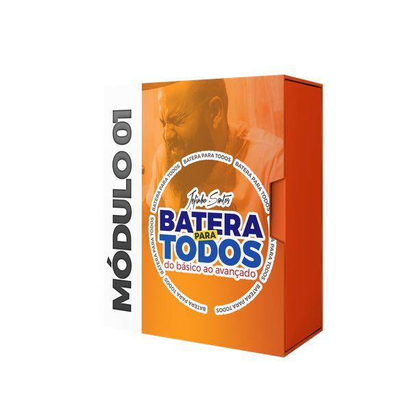 Imagem principal do produto BATERIA PARA TODOS - MÓDULO 01 - JEFINHO SANTOS