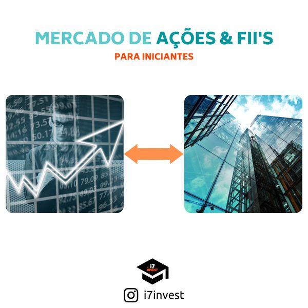 Imagem principal do produto MERCADO DE AÇÕES E FII'S PARA INICIANTES