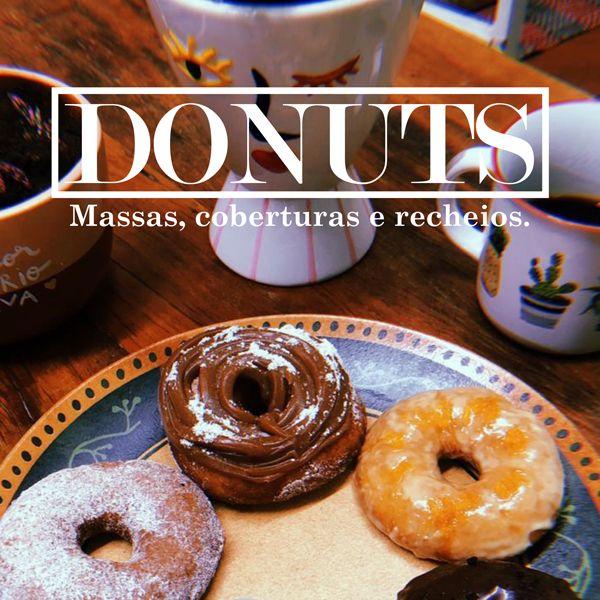 Imagem principal do produto Donuts Simples - Massas, Cobertura e Recheios